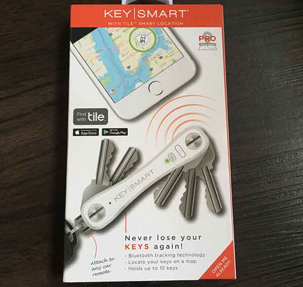 Gadget gifts and giveaways on www.CourtneyPrice.com -- Keysmart Pro -never lose your keys again, key finder, tile app, key organizer- as seen on www.CourtneyPrice.com