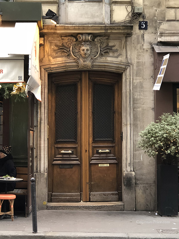 Doors of Paris, as seen on www.CourtneyPrice.com