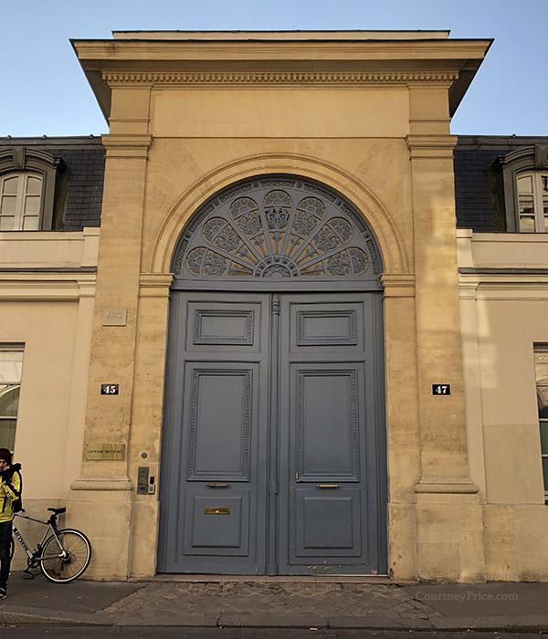 Doors of Paris, as seen on www.CourtneyPrice.com