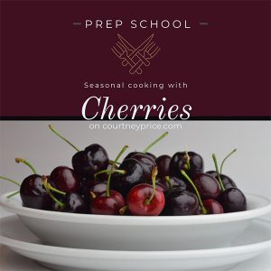 Two great recipes for bing cherries on courtneyprice.com