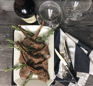 easy and delicious rack of lamb recipe on courtneyprice.com
