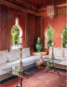 Design by Bill Willis, from Meryanne Loum-Martin's book Inside Marrakesh, as seen on CourtneyPrice.com