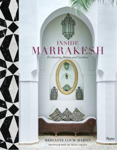 Meryanne Loum-Martin's book Inside Marrakesh, as seen on CourtneyPrice.com
