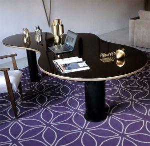 Contemporary desk, resourcing fab modern furniture on CourtneyPrice.com