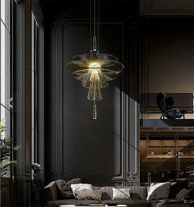 Gravity Pendant Lamp, as seen on CourtneyPrice.com