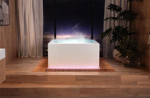 Kohler new smart tub The Stillness Bath, as seen on CourtneyPrice.com