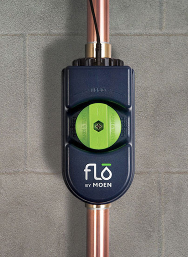 Revolutionary Water Leak Detection and shutoff, as seen on CourtneyPrice.com