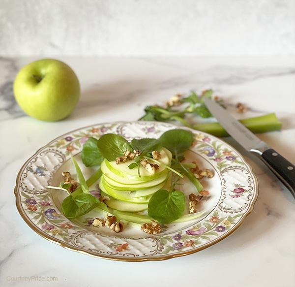 Waldorf Salad, Reimagined- on CourtneyPrice.com